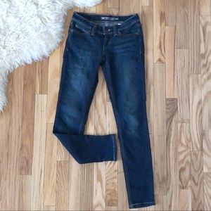 Levi's Demi Curve Dark Wash Skinny Jeans